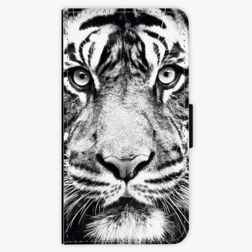 Flipové pouzdro iSaprio - Tiger Face - Samsung Galaxy S6 Edge