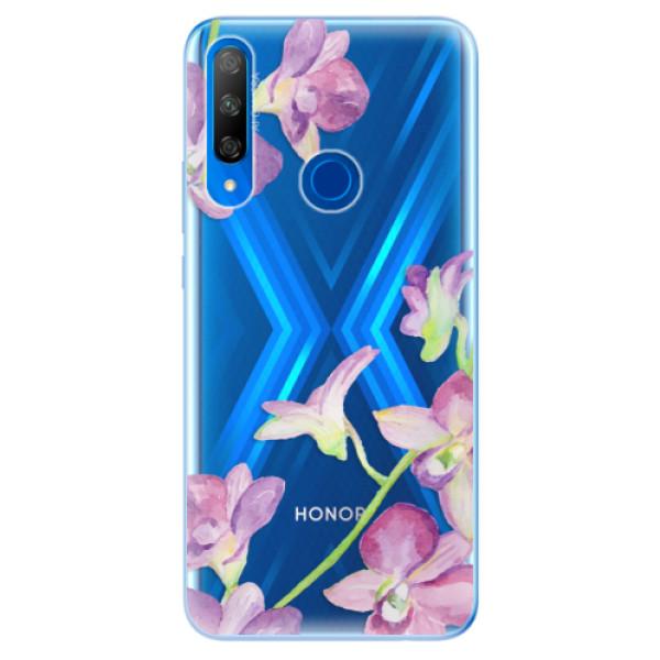 Odolné silikonové pouzdro iSaprio - Purple Orchid - Huawei Honor 9X