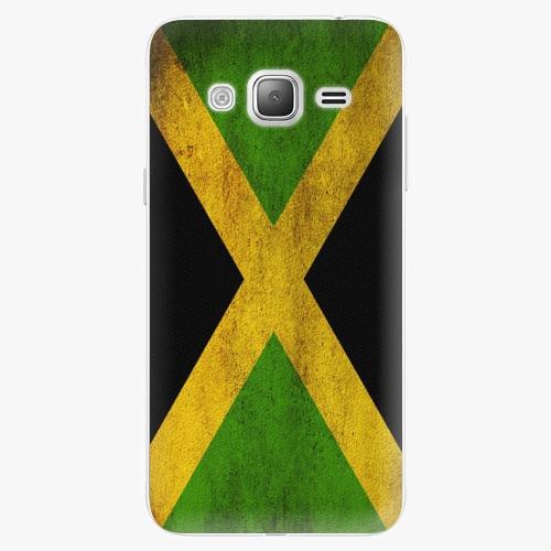 Plastový kryt iSaprio - Flag of Jamaica - Samsung Galaxy J3 2016