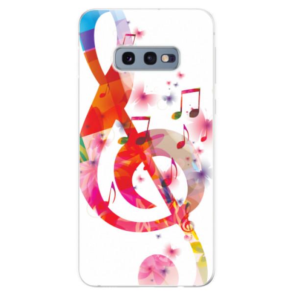 Odolné silikonové pouzdro iSaprio - Love Music - Samsung Galaxy S10e