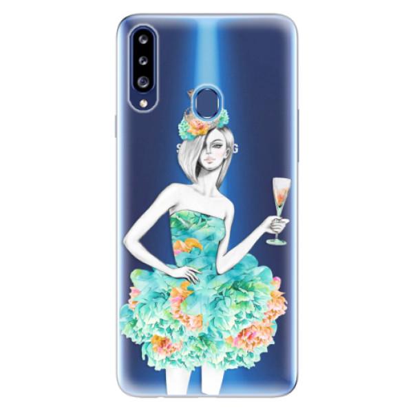 Odolné silikonové pouzdro iSaprio - Queen of Parties - Samsung Galaxy A20s