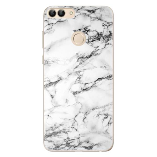 Odolné silikonové pouzdro iSaprio - White Marble 01 - Huawei P Smart