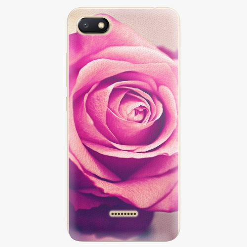 Plastový kryt iSaprio - Pink Rose - Xiaomi Redmi 6A