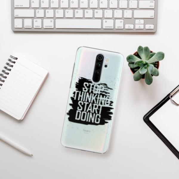 Plastové pouzdro iSaprio - Start Doing - black - Xiaomi Redmi Note 8 Pro