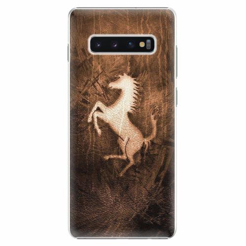 Plastový kryt iSaprio - Vintage Horse - Samsung Galaxy S10+