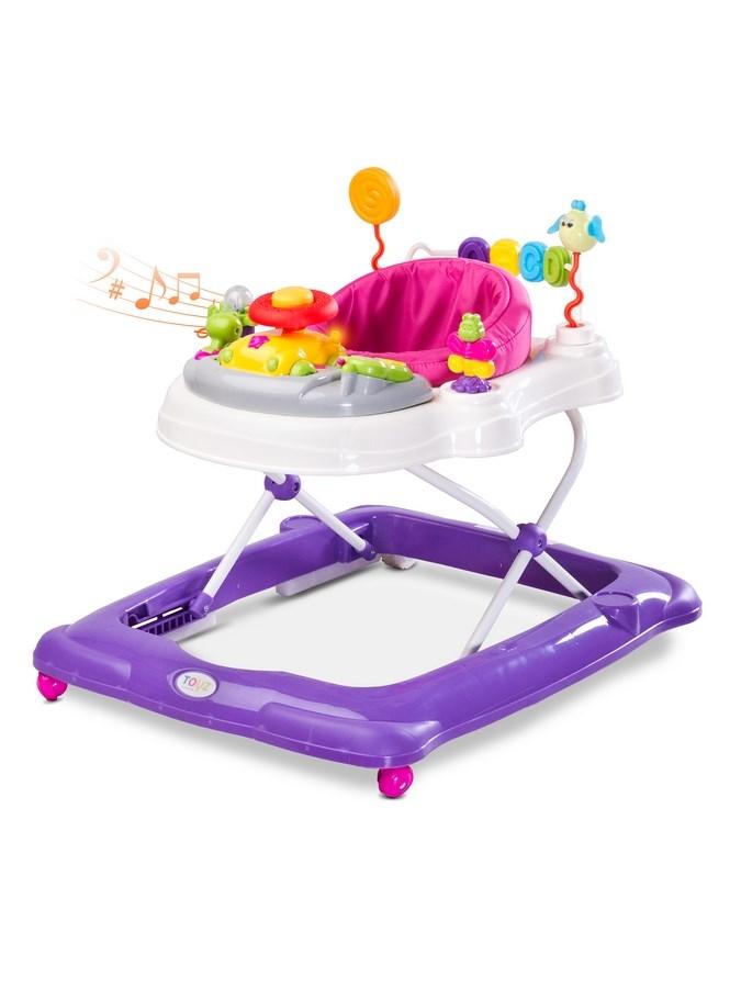 Dětské chodítko Toyz Stepp purple (poškozený obal) - fialová