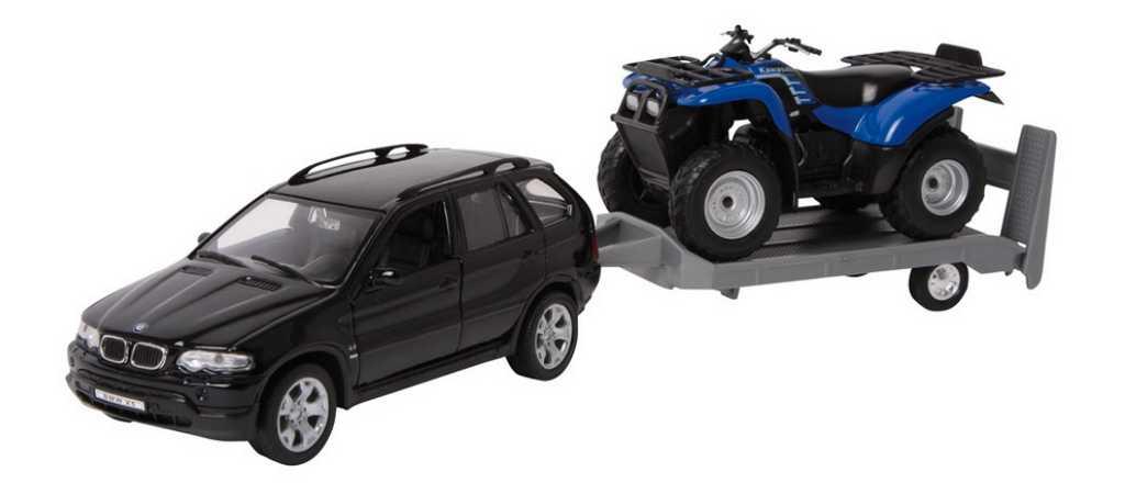 Small Foot Kovový model auta Model automobilu Off-Road set