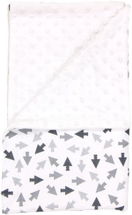 Dětská deka, dečka Arrow 80x90 - Minky/ bavlna