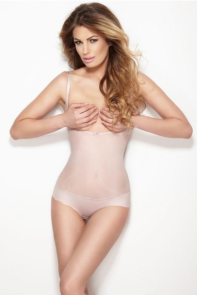 Dámské stahovací body Glam string pink