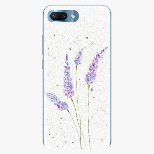 Silikonové pouzdro iSaprio - Lavender - Huawei Honor 10
