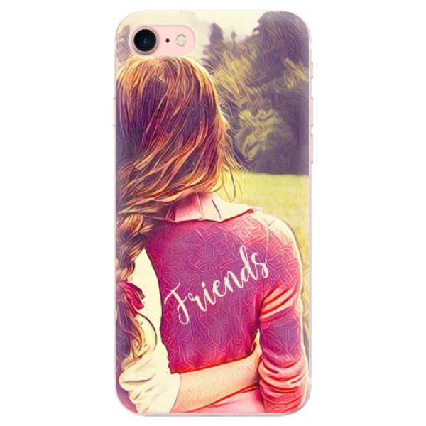 Odolné silikonové pouzdro iSaprio - BF Friends - iPhone 7