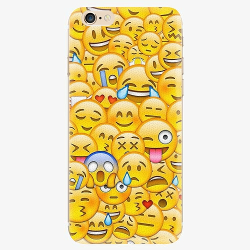 Silikonové pouzdro iSaprio - Emoji - iPhone 6/6S