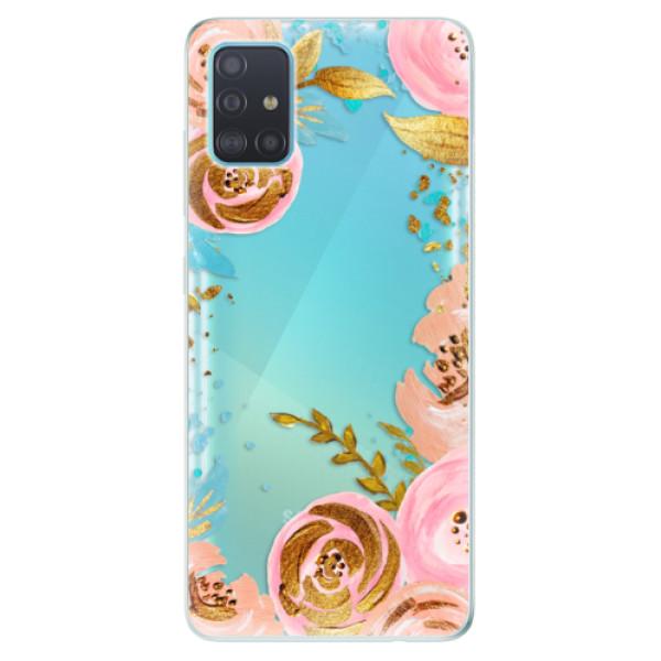 Odolné silikonové pouzdro iSaprio - Golden Youth - Samsung Galaxy A51