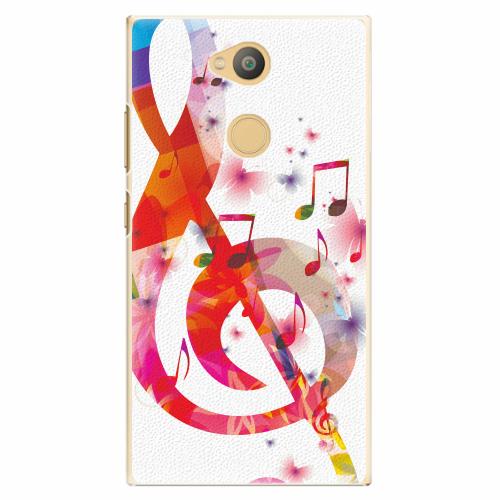 Plastový kryt iSaprio - Love Music - Sony Xperia L2