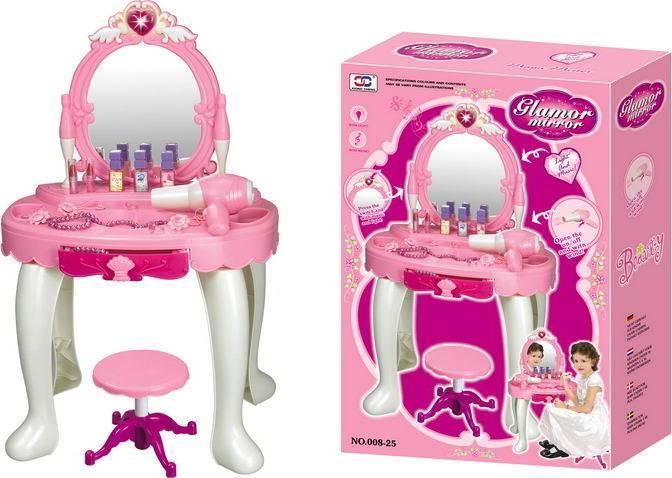 Dětský kosmetický stolek 690401 G21 s fénem
