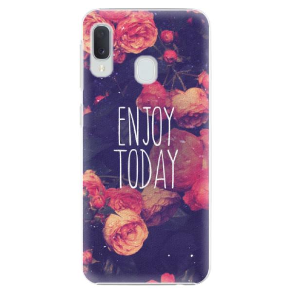 Plastové pouzdro iSaprio - Enjoy Today - Samsung Galaxy A20e