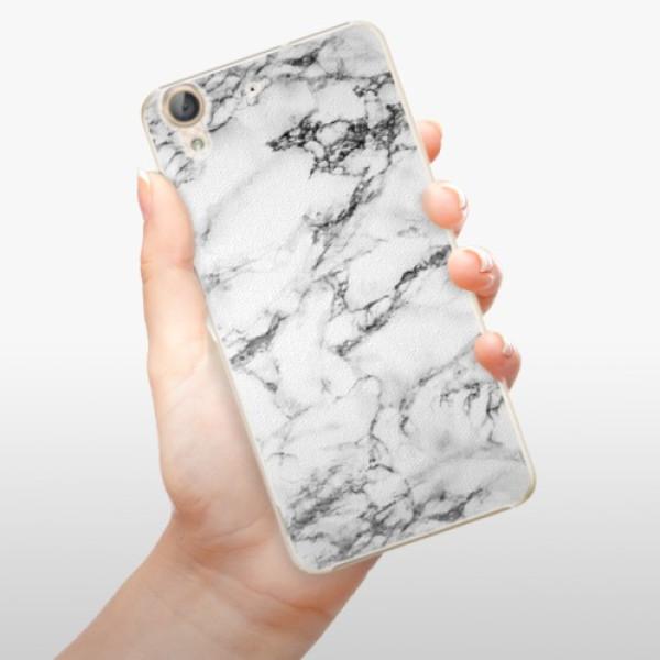 Plastové pouzdro iSaprio - White Marble 01 - Huawei Y6 II