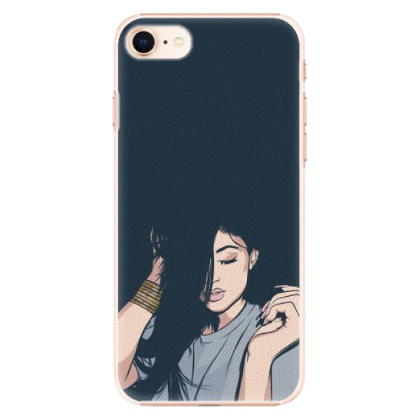 Plastové pouzdro iSaprio - Swag Girl - iPhone 8