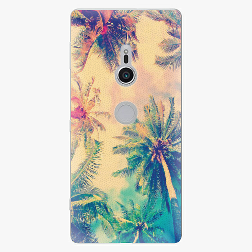 Plastový kryt iSaprio - Palm Beach - Sony Xperia XZ2