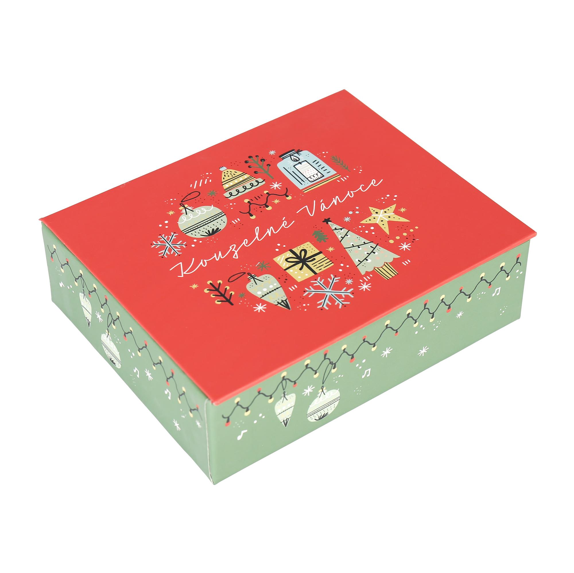 Hrací krabička - Vánoční symboly