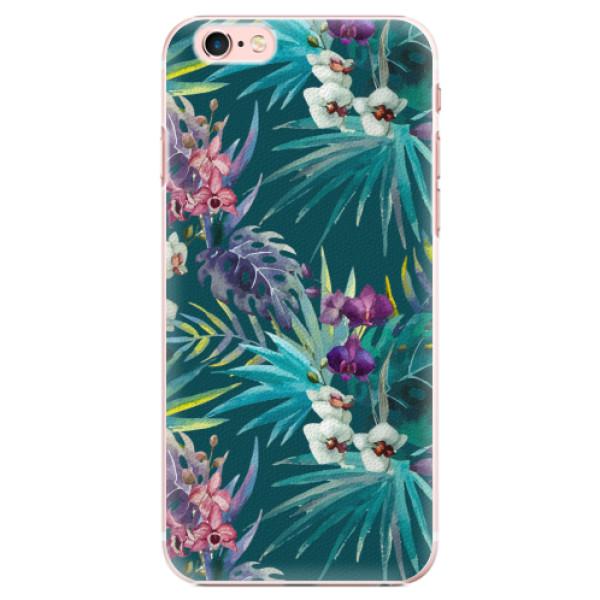 Plastové pouzdro iSaprio - Tropical Blue 01 - iPhone 6 Plus/6S Plus