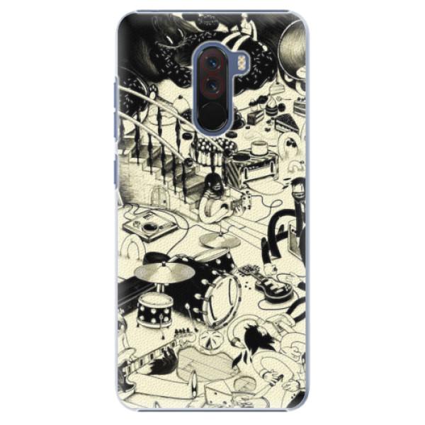 Plastové pouzdro iSaprio - Underground - Xiaomi Pocophone F1