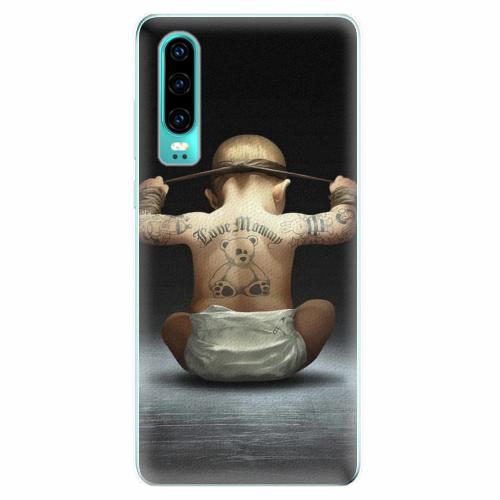 Silikonové pouzdro iSaprio - Crazy Baby - Huawei P30