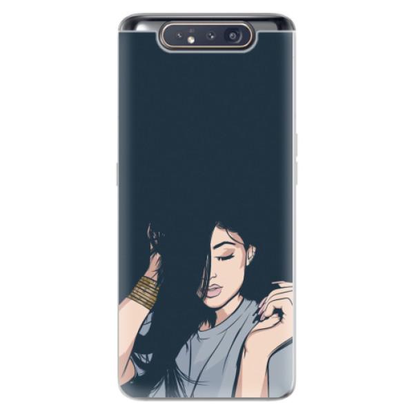 Odolné silikonové pouzdro iSaprio - Swag Girl - Samsung Galaxy A80