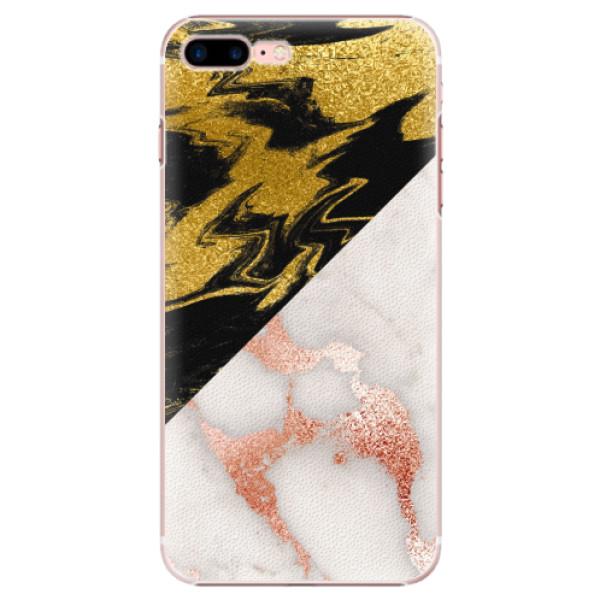 Plastové pouzdro iSaprio - Shining Marble - iPhone 7 Plus