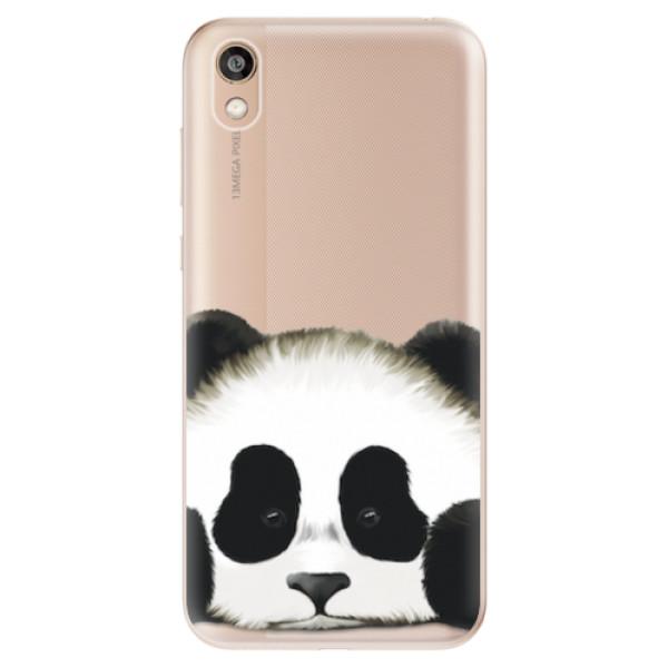 Odolné silikonové pouzdro iSaprio - Sad Panda - Huawei Honor 8S
