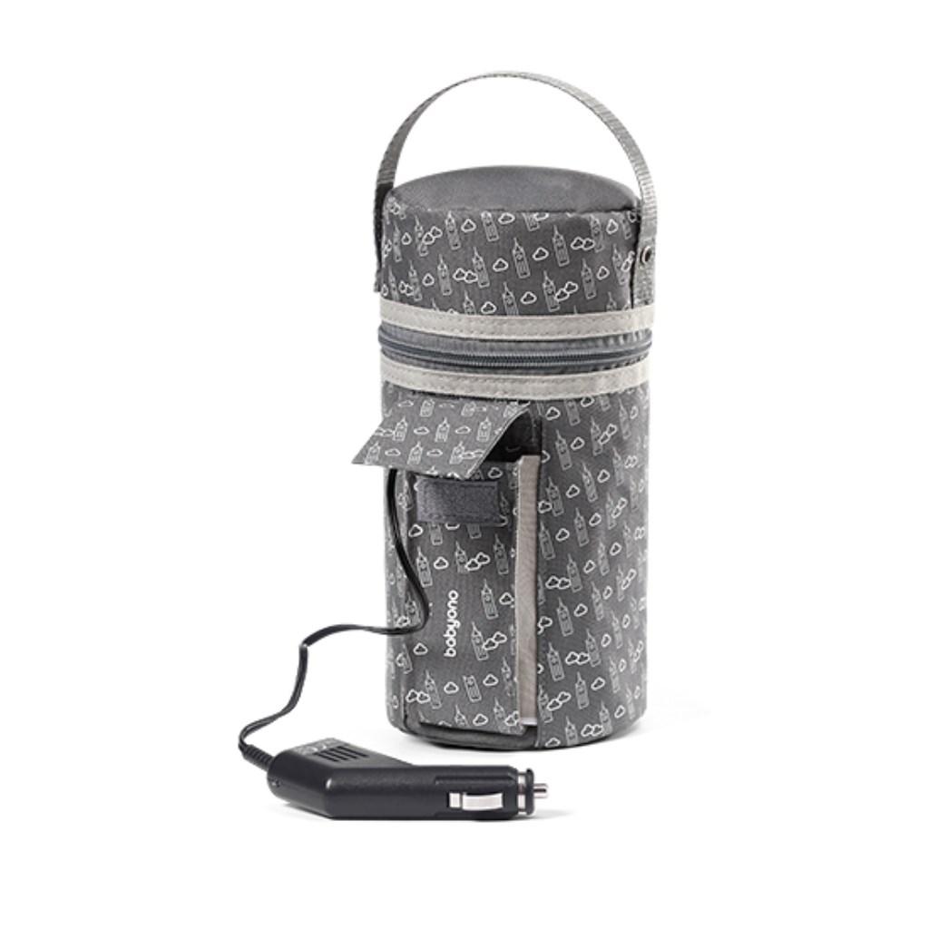 Automobilový ohřívač lahví Baby Ono šedý - šedá