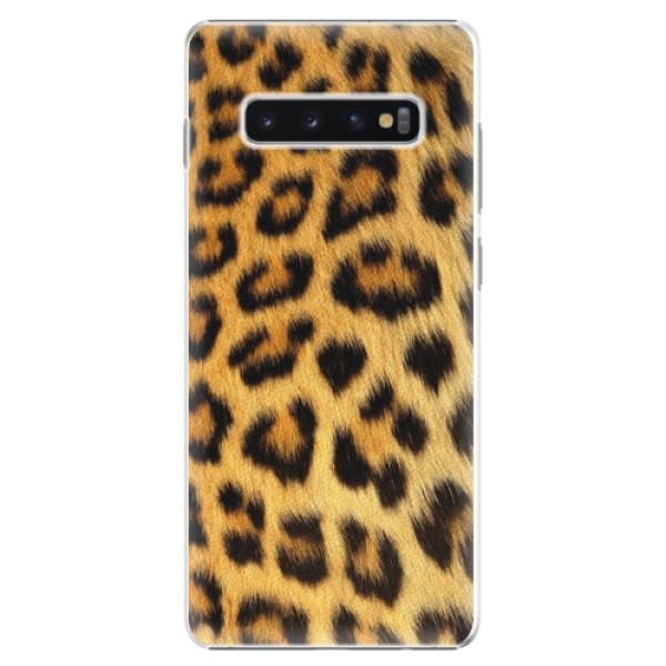 Plastové pouzdro iSaprio - Jaguar Skin - Samsung Galaxy S10+