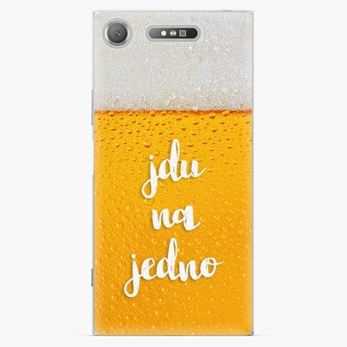 Plastový kryt iSaprio - Jdu na jedno - Sony Xperia XZ1