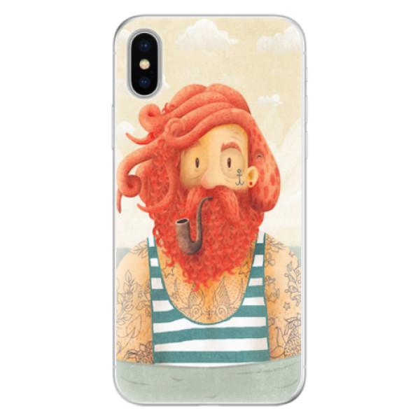 Silikonové pouzdro iSaprio - Sailor - iPhone X