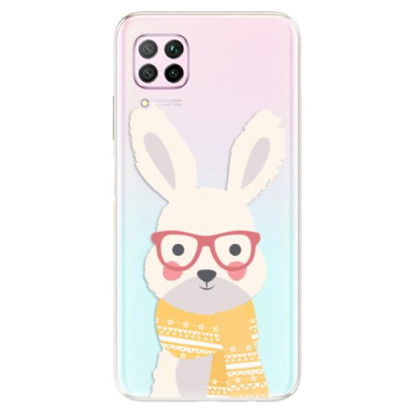 Odolné silikonové pouzdro iSaprio - Smart Rabbit - Huawei P40 Lite