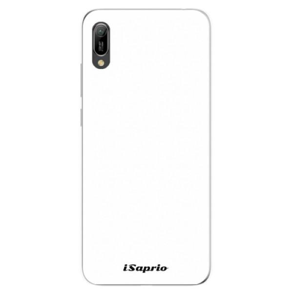 Odolné silikonové pouzdro iSaprio - 4Pure - bílý - Huawei Y6 2019
