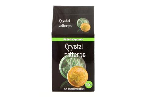 Mini chemická sada - krystalové obrazce