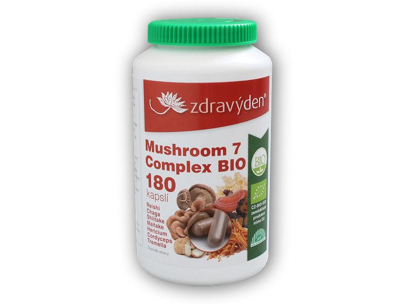 Mushroom 7 Complex BIO 180 kapslí