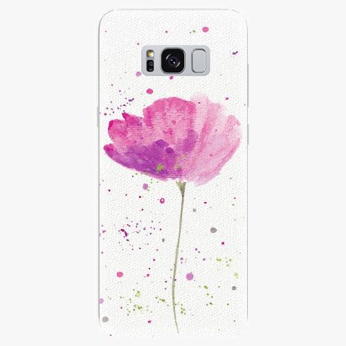 Plastový kryt iSaprio - Poppies - Samsung Galaxy S8 Plus