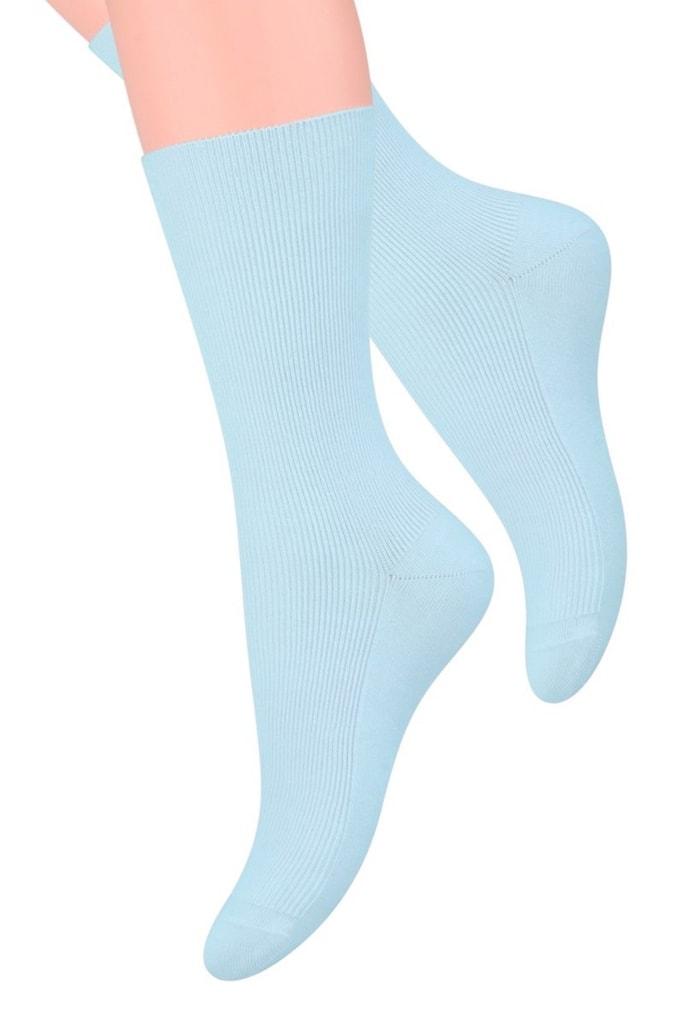 Dámské ponožky 018 blue - 35/38