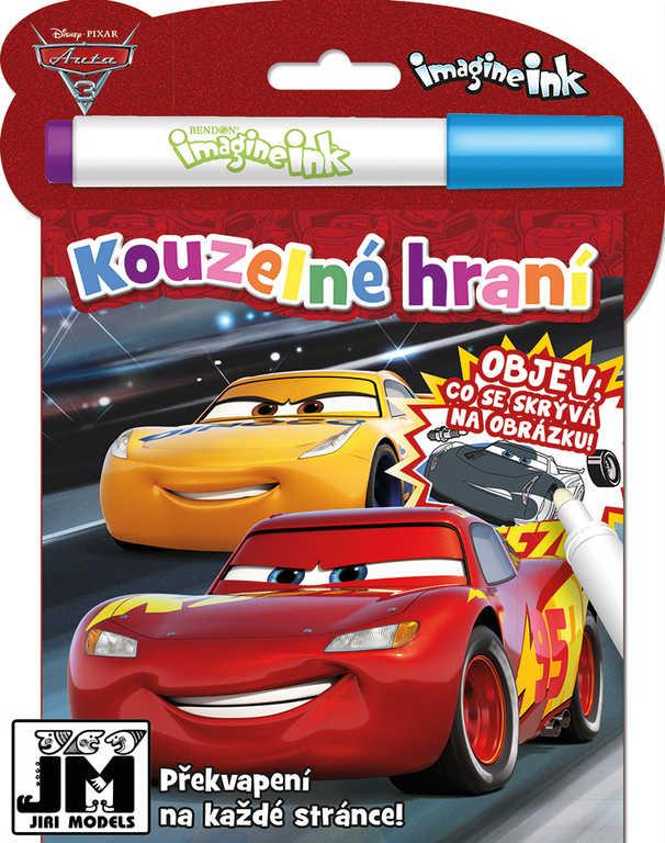 JIRI MODELS Kouzelné hraní Auta (Cars) aktivity s kouzelnou fixou