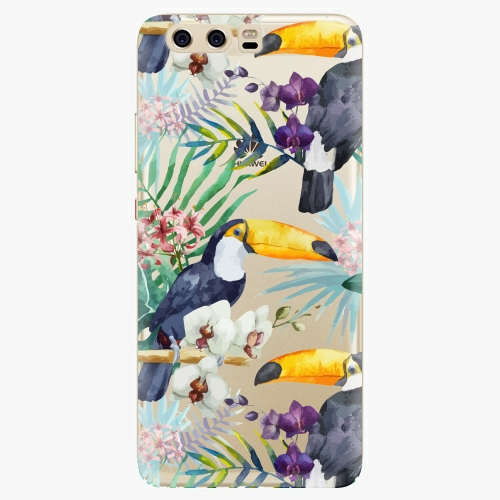 Plastový kryt iSaprio - Tucan Pattern 01 - Huawei P10
