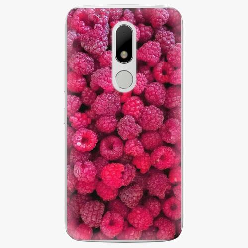 Plastový kryt iSaprio - Raspberry - Lenovo Moto M
