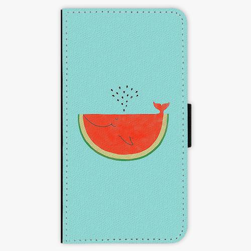 Flipové pouzdro iSaprio - Melon - Lenovo Moto G4 / G4 Plus