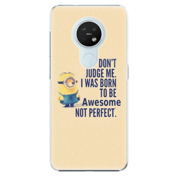 Plastové pouzdro iSaprio - Be Awesome - Nokia 7.2