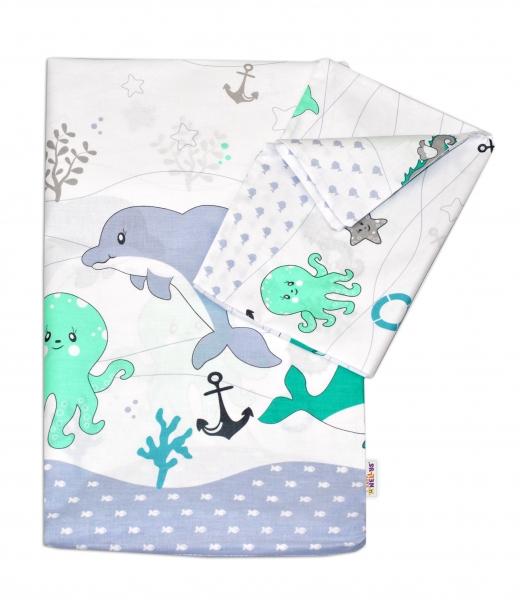 baby-nellys-2-dilne-bavlnene-povleceni-ocean-zeleny-120x90