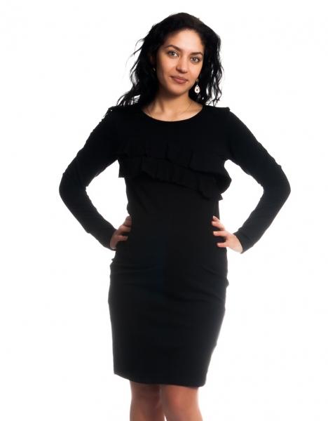 3c7ad30b664d Těhotenské kojící šaty s volánkem