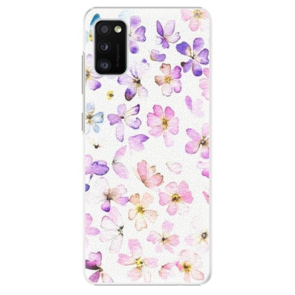Plastové pouzdro iSaprio - Wildflowers - Samsung Galaxy A41