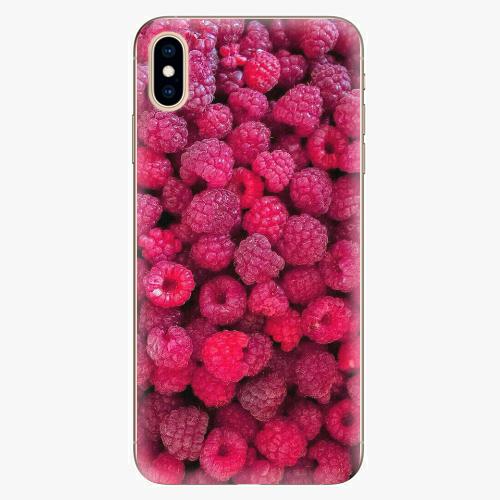 Plastový kryt iSaprio - Raspberry - iPhone XS Max