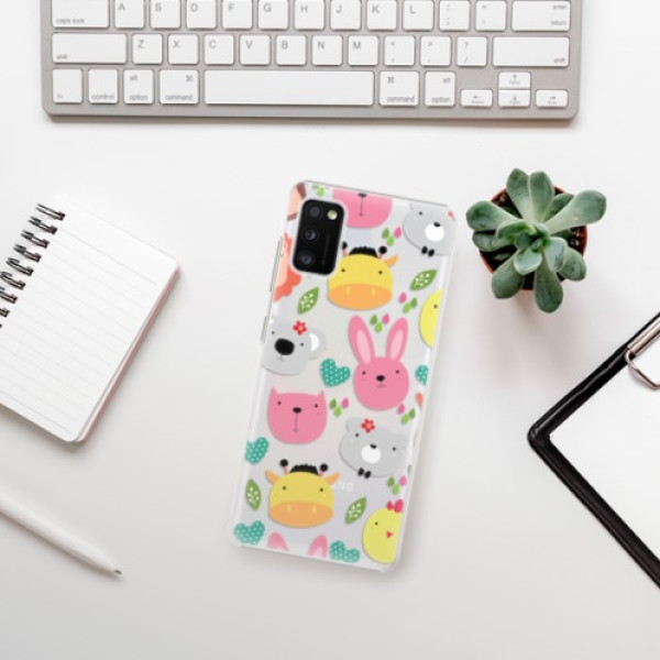 Plastové pouzdro iSaprio - Animals 01 - Samsung Galaxy A41